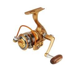 High Quality yumoshi Brand 12+1 BB Ultralight Mini Fishing Reel Hand Spinning Gapless Ice 13 Bearings Fishing Wheels Ocean River