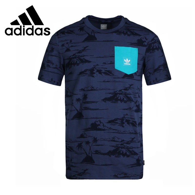 Original New Arrival 2018 Adidas Original HAVEN PKT TEE Men's T-shirts short sleeve Sportswear original new arrival 2017 adidas neo label m sw tee men s t shirts short sleeve sportswear