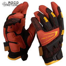 Mens Full Finger Tactical Gloves Rappelling Outdoor Hiking Gloves US Army Seals