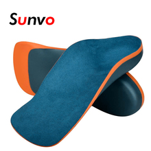 Sunvo Kid Orthotic Insoles for Children Flatfoot Arch Support Corrector Child Orthopedic Shoes Pad Foot Care Toddler Insole Sole