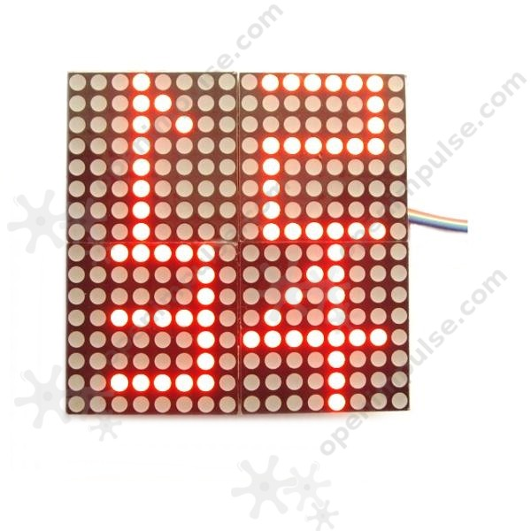 US $11 98 |MAX7219 4 in 1 16X16 Dot Matrix Display Module-in Parts &  Accessories from Toys & Hobbies on Aliexpress com | Alibaba Group