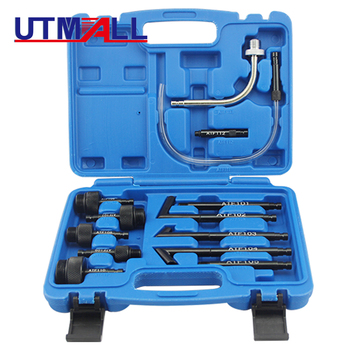 13Pcs Oil Refill Filling Adaptor Set CVT Transmission Service Adapter ATF Adapters Transmission Oil Refilling Tool for auto