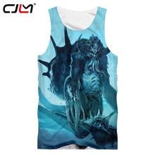 ee78a27988ac CJLM 2018 Summer Tops Men 3d Print Monster Tank Top Man Hip Hop Streetwear Singlets  Homme Bodybuilding Fitness Sleeveless Vests