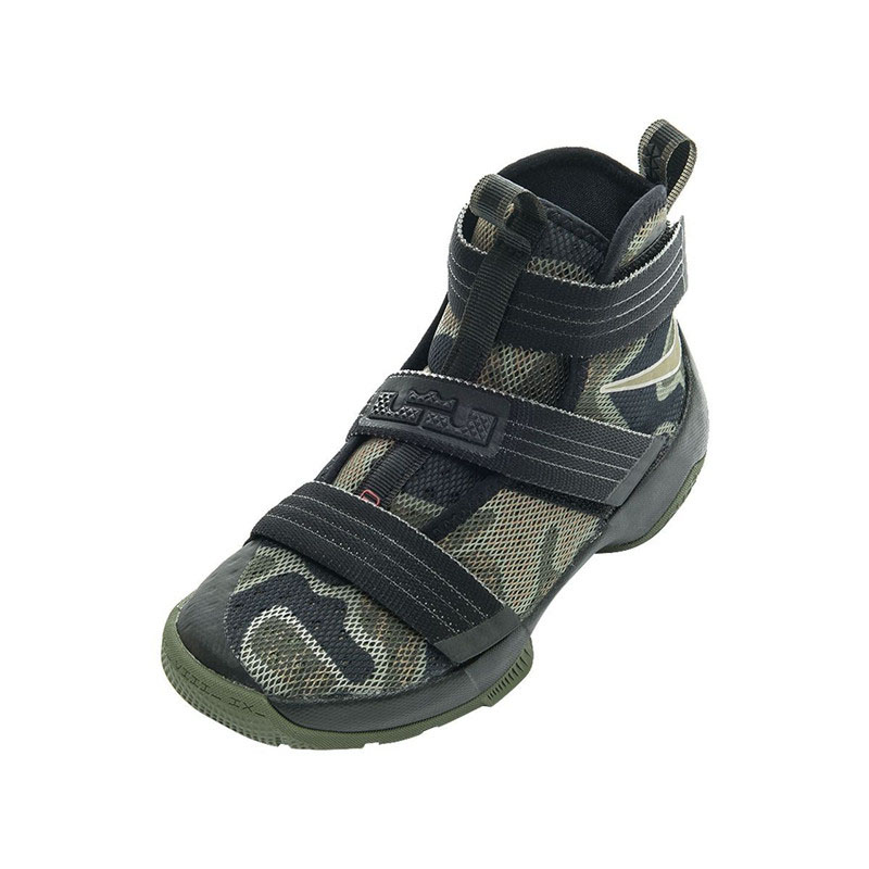 Original Authentic Professional NIKE LEBRON SOLDIER 10 GS Boy Kids  Basketball Shoe Cool Camouflage Boys Sport Running Sneakers-in Sneakers  from Mother ... c0d393754