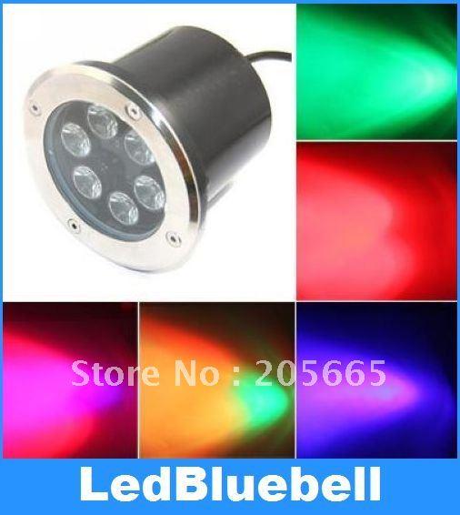 6W LED Light Spot Lamp Waterproof Lamp Outdoor underground Garden Light 12V drop price lampada le garden light ac85 256v ground light outdoor deck leds 6w underground light 1pcs