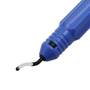 Image 2 - Outils débavurage professionnel, outil de coupe Portable à main, outils débavurage des bords/lame de rechange 10 pièces BS1010