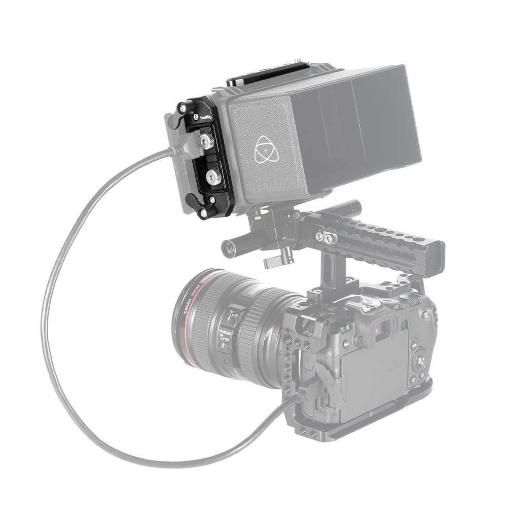 Placas de montaje SmallRig y abrazadera de Cable HDMI para placa superior Atomos Ninja V + placa base + Kit de abrazadera de Cable HDMI-2338