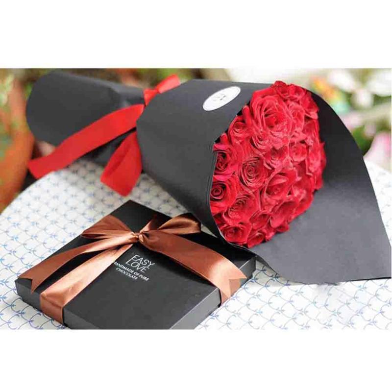 20 Sheet Flower Wedding Bouquet Flower Kraft Paper Wrapping Gift Wrap Brown