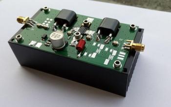 AMPLIFICADOR DE POTENCIA de 45W 70-200MHZ para transceptor HF, amplificador de radio con disipador de calor
