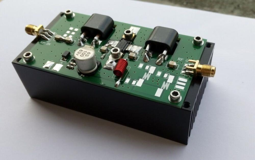 Assembled Finished 45W 70-200MHZ Power Amplifier For Transceiver HF Radio AMP With Heatsink