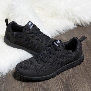 Image 4 - NIDENGBAO zapatos informales de malla para hombre, calzado liviano para caminar, talla grande 47 48 49 50