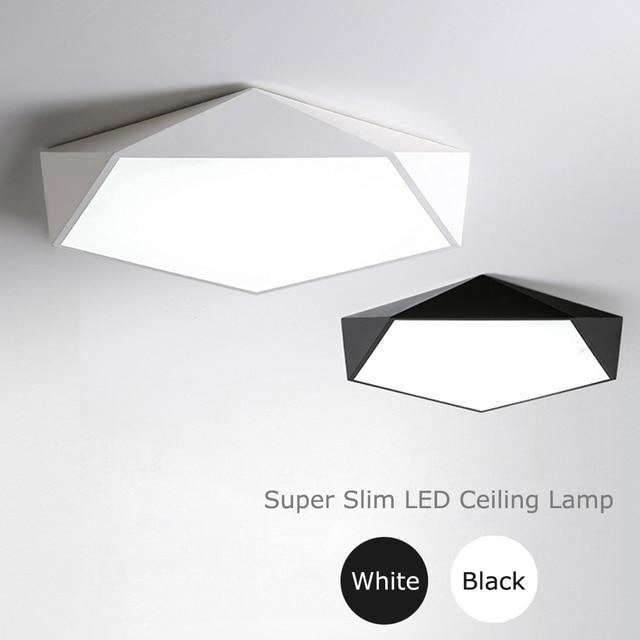 ultra thin led ceiling lamp modern super bright ceiling. Black Bedroom Furniture Sets. Home Design Ideas