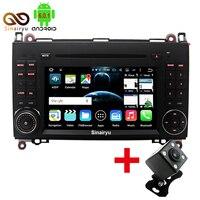 Sinairyu 4G Octa Core 8 Core Android 6.0 Auto Dvd-speler voor Mercedes Benz Vito Viano Sprinter Een B Klasse W169 W245 VW Crafter LT3