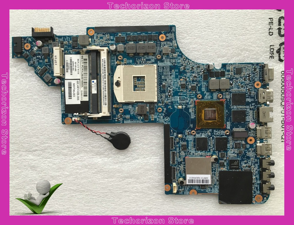665991-001  fit for Hp Pavilion DV7 DV7-6000 Laptop motherboard 639391-001 1GB HM65 s989 DDR3 tested working free shipping 100% tested 666520 001 board for hp pavilion dv7 dv7 6000 laptop motherboard with for amd a70m chipset hd6750 1g