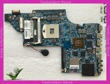 665991-001 fit für Hp Pavilion DV7 DV7-6000 Laptop motherboard 639391-001 1 GB HM65 s989 DDR3 getestet arbeits