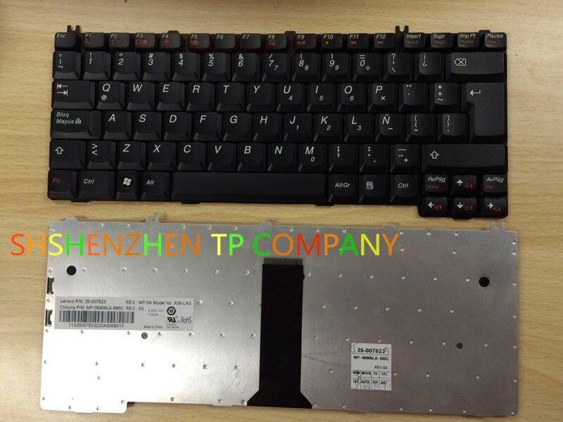 LA KEYBOARD FOR Lenovo 3000 C466 F41 G430 G450 G455 G530 N100 N200 N220 N430 N440 N500 LATIN AMERICAN VERSION