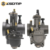 ZSDTRP 2T/4T Motorcycle PWK Carburetor Modified 28 30 32 34mm Carb With Power Jet For Keihin OKO Scooter ATV Quad