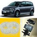 2 шт. супер мощный передний амортизатор катушки пружинная Подушка буфер для VW Touran 2012-2013