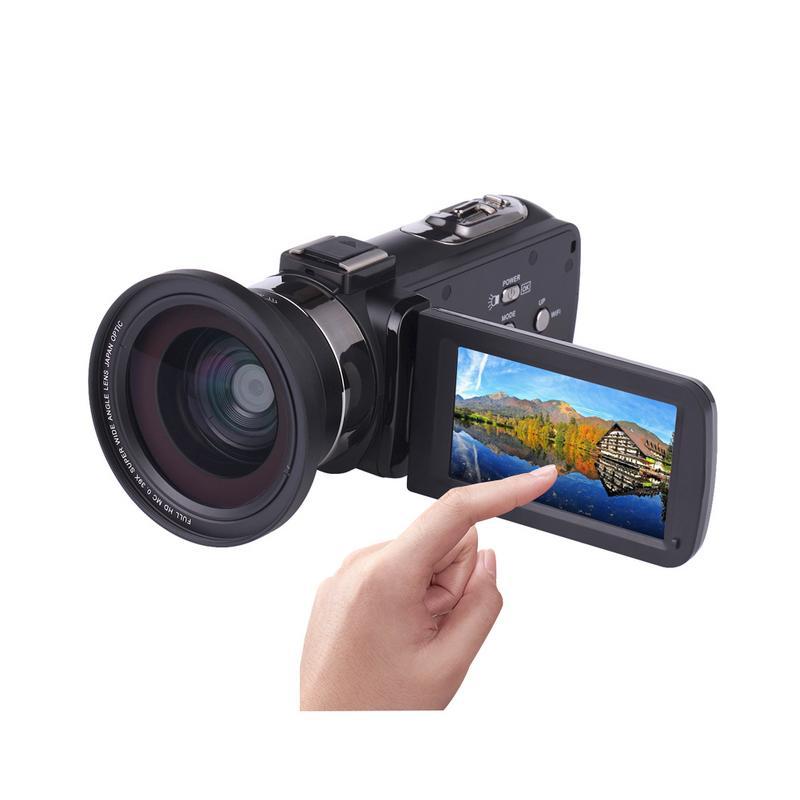 4K Super Definition Digital Camera Outdoor Wedding Home Handheld DV Professional Night Shot Camera