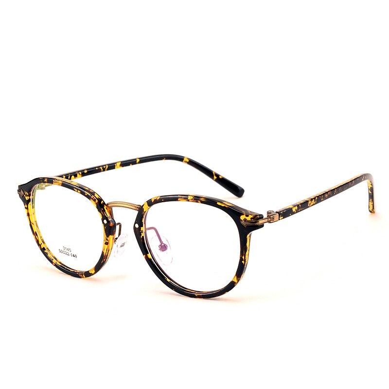 round frames vintage big hipster glasses optical eyeglasses frame ...