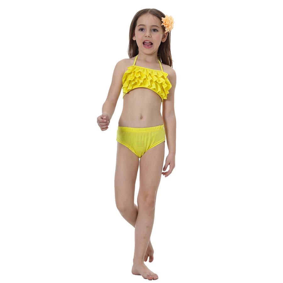 4 шт./компл. 4 цвета для девочек ванный комплект одежда заплыва хвостом русалки с хвостом русалки ариэль моноласты детей костюм детские