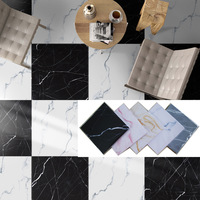 Marble floor 3D stereo wall sticker Self sticking ceramic tile Renovation waterproof Wear resistant home decoration Floor patch