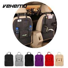 Vehemo Auto Car Seat Back Storage Bag Organizer Multi-Pocket Travel Storage Bag Hanger Large Capacity Storage Pouch