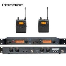 Leicozic профессиональные вкладыши мониторы sr2050 iem в ухо монитор система сценического мониторинга беспроводной монитор в ухо uhf комплект