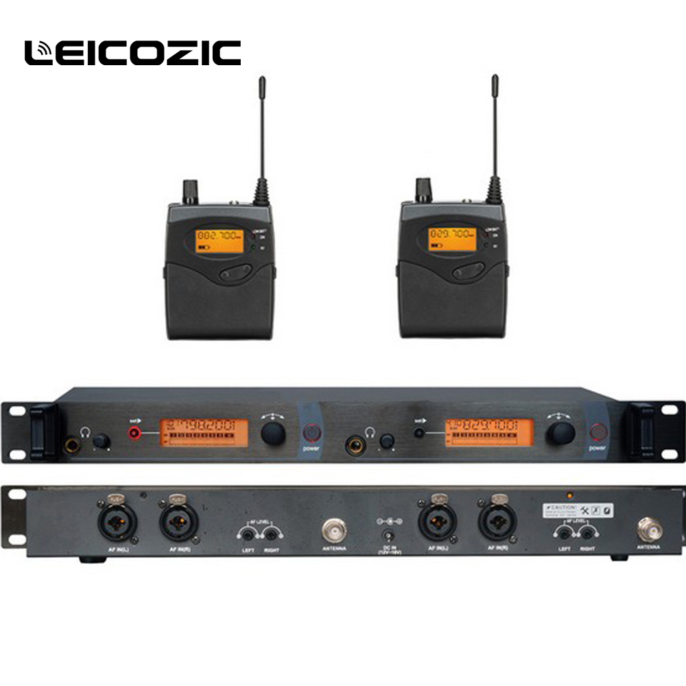 Leicozic Professionelle <font><b>in</b></font> ohr monitore <font><b>sr2050</b></font> iem <font><b>in</b></font> ohr monitor system bühne überwachung system wireless monitor <font><b>in</b></font> ohr uhf kit image