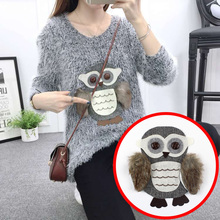4Pcs 21*23cm Sweater cloth embroidered owl patches accessories diy joker large patch applique cartoon style A1341