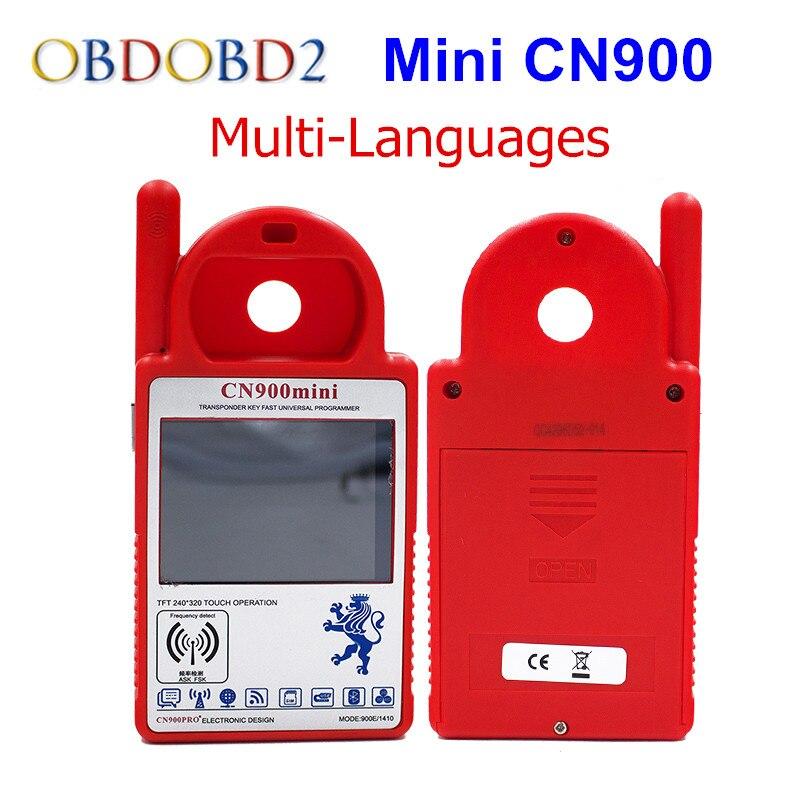 Latest Version Smart CN900 Mini Transponder Key Programmer Update Online Mini CN900 V5.18 Can Copy 4C/4D/46/G chips