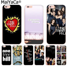 MaiYaCa One Tree Hill di Lusso Cassa Del Telefono di Modo per Apple iphone 11 pro 8 7 66S Plus X 5S SE XS XR XS MAX Mobile Della Copertura(China)