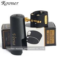 ROVNER Versa V 1RL, Ligadura de saxofón alto, Ligadura de metafina, 6 tipos de sonidos