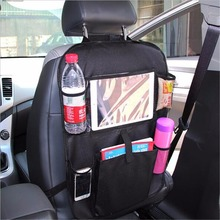 Stowing Tidying Universal Car Organizer font b Storage b font Bag Back Seat Organizer Car Phone