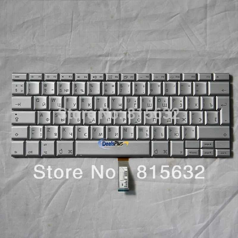 "Новый для APPLE Macbook Pro 17 ""A1261 Российская Клавиатура TECLADO, оптовая продажа!"