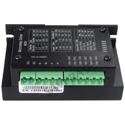 SAVEBASE CNC Mill Router DIY CNC Stepper Driver Board Controller M335 0.5A-3.5A 12V-30VDC