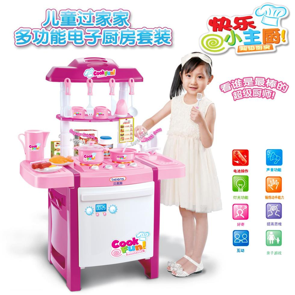 Online Shop Girls Play Kitchen Toy Set Children's Play Kitchens Toy  Manufacturers Voiced Effect Lighting Toys Girls Cooking Toys  Aliexpress  Mobile