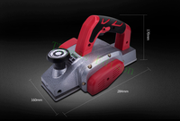 1000w 2mm The high end portable multifunctional aluminum electric planer woodworking planer the block board planing tool