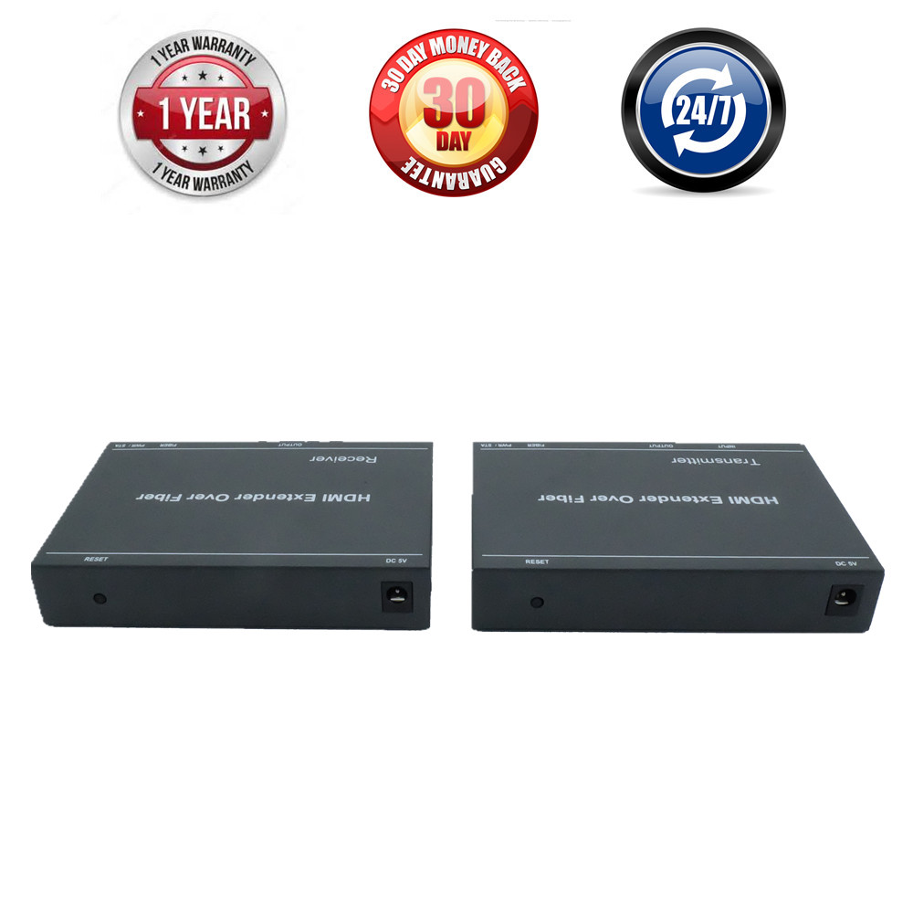 LKV378 H.264 HDMI Fiber Optical Video Audio TX RX Converter Over Fiber Optic Transmission With HDMI Extender 20km By SC FC Cable