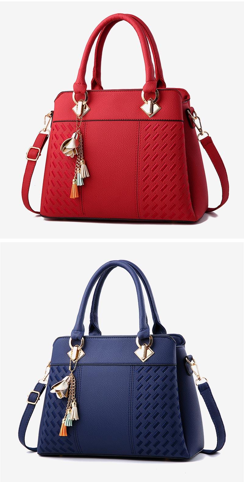 STSR Leather Clutch Bag Female Handbag Luxury Beach Tote Ms. Fringe Shoulder Bag Tote gray one size 19