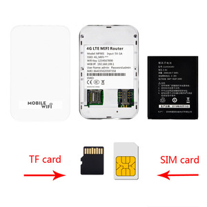 Image 2 - Tianji 4G موزع إنترنت واي فاي جهاز توجيه صغير 3G 4G Lte اللاسلكية المحمولة جيب واي فاي موبايل هوت سبوت سيارة واي فاي جهاز توجيه ببطاقة Sim فتحة