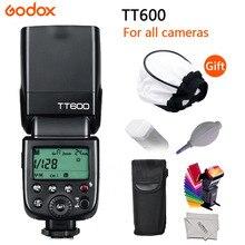 Godox TT600  TT600S 2.4G Wireless GN60 Master/Slave Camera Flash Speedlite for Canon Nikon Sony Pentax Olympus Fuji Lumix godox tt600 gn60 2 4g wireless camera flash speedlite with built in trigger system for canon nikon pentax olympus fuji sony