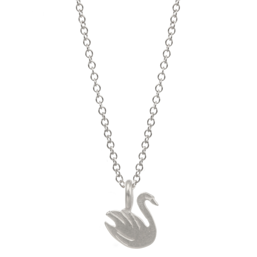 Hot Sale Graceful Swan Necklace Gold Color Pendant Necklace Clavicle Chain  Statement Necklace Women Jewelery D088-in Chain Necklaces from Jewelry ...