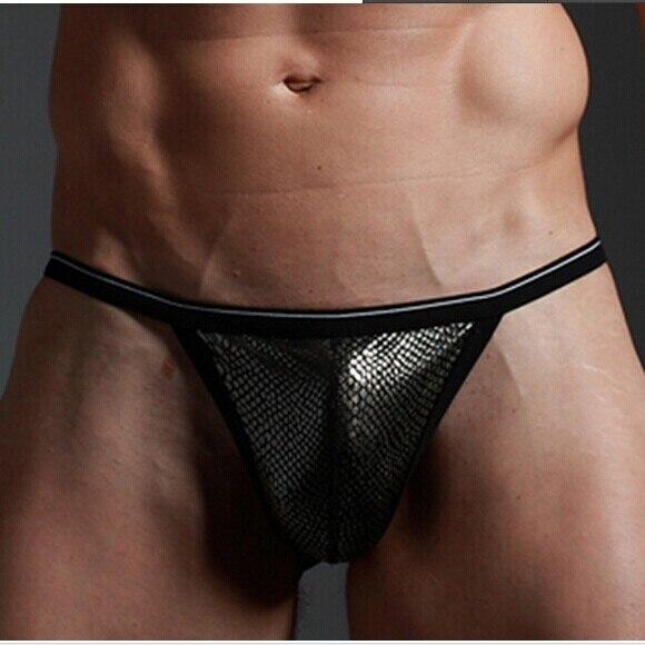 thongs underwear men in Black