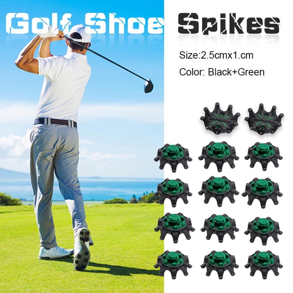 14pcs Portable Golf Spikes Fast Twist Shoe Spikes Replacement