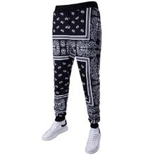 2017 Pattern Long Pants Men Elastic Hip Harem Pants Casual Men Black Spring Trousers Pilling Pants Fashion Brand Clothing