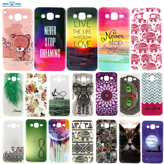 IMD & TPU Soft Mobile phone back cover shell For Samsung