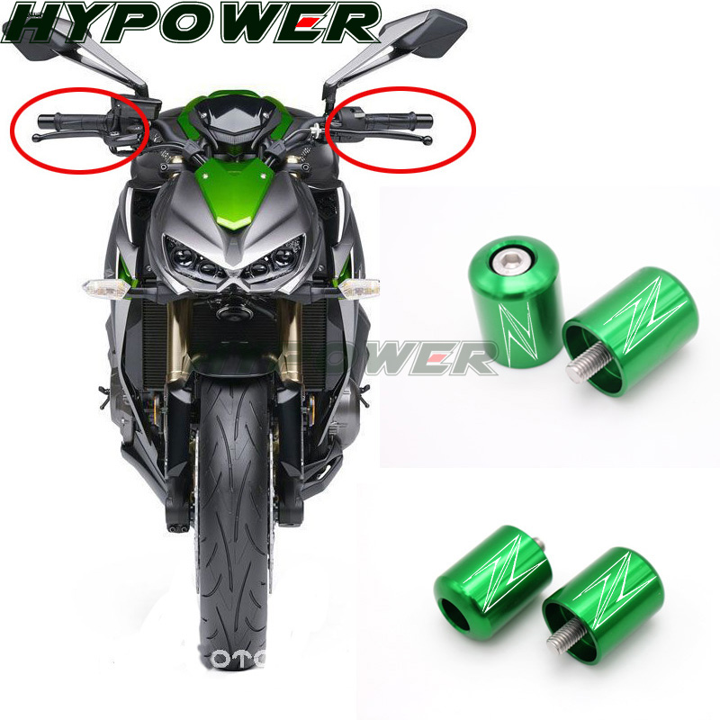 Red BJ Global Motorcycle CNC Protection Front Fender Slider Protector Mudguard Cover Decals for Kawasaki Z750 Z800 Z900 Z1000