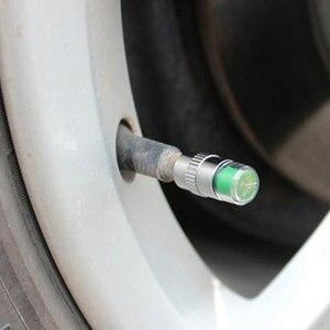 Image 3 - 4 個 36PSI TPMS タイヤ圧力キャップ監視耐久性のある正確な車のタイヤモニタータイヤゲージセンサーインジケータ診断ツールキット