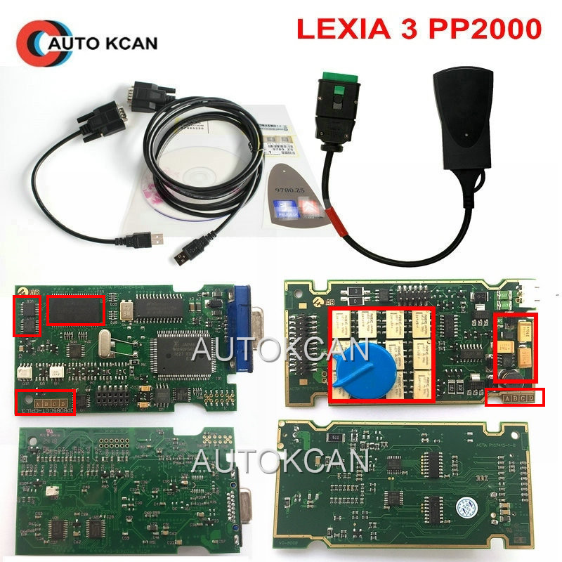 Super Firmware Reference 921815C Newest Diagbox 7 83 Lexia 3 PP2000 V48 Diagnostic Tool Lexia 3